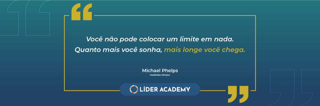 Frase de Liderança: Michael Phelps
