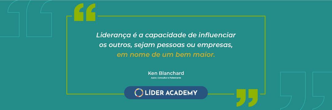 Frase de liderança: Ken Blanchard