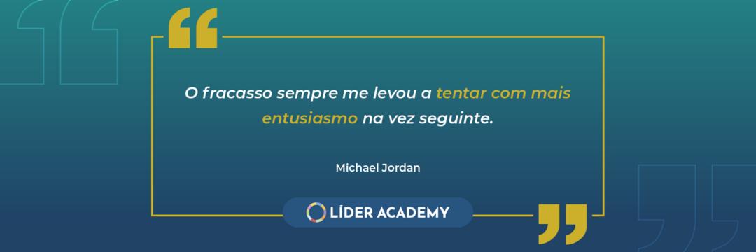 Frase de liderança: Michael Jordan