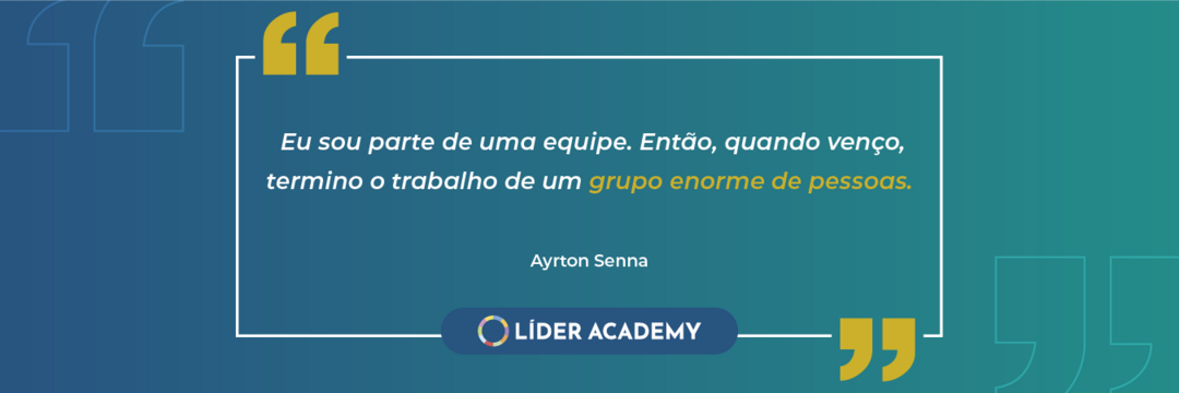Frase de liderança: Ayrton Senna