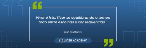 Frase de liderança: Jean Paul Sartre