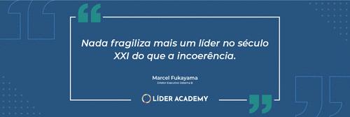 Frase de liderança: Marcel Fukayama