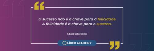 Frase de liderança: Albert Schweitzer