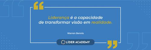 Frase de liderança: Warren Bennis