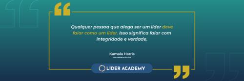 Frase de liderança: Kamala Harris
