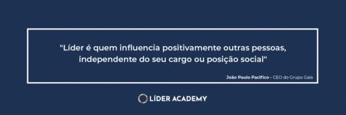 Frase de liderança: Líder é quem influencia positivamente outras pessoas