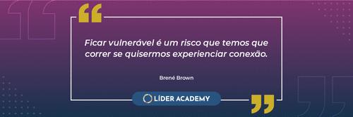 Frase de Liderança: Brené Brown